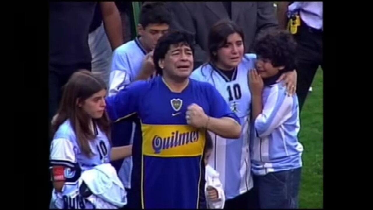 Maradona morre aos 60 anos