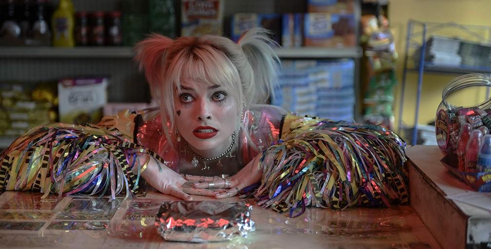 Margot Robbie em cena de 'Aves de Rapina' — Foto: Divulgação