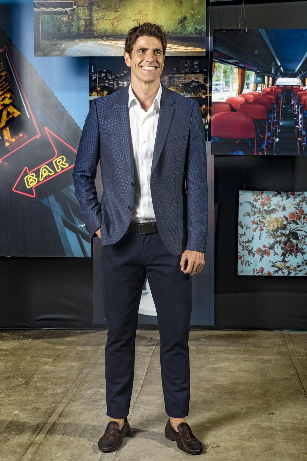Reynaldo Gianecchini interpreta o playboy Régis, em 'A Dona do Pedaço' — Foto: TV Globo/João Miguel Jr.