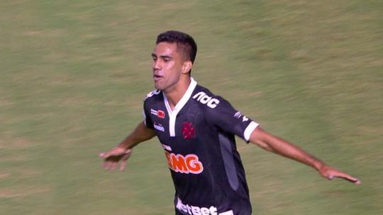 """Do alojamento em São Januário ao gol """"precoce"""", Tiago Reis cresce rápido no Vasco"""