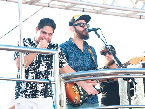 Dupla Jorge & Mateus na Barra (Foto: Mauro Zaniboni /Ag Haack)