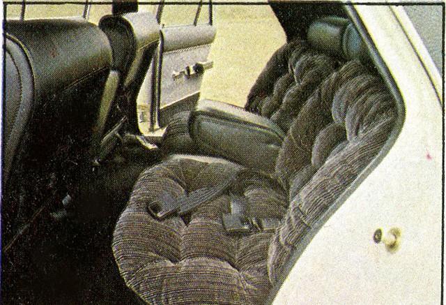 Atrás, conforto para donos que preferiam ser conduzidos em vez de dirigir (Foto: Autoesporte)