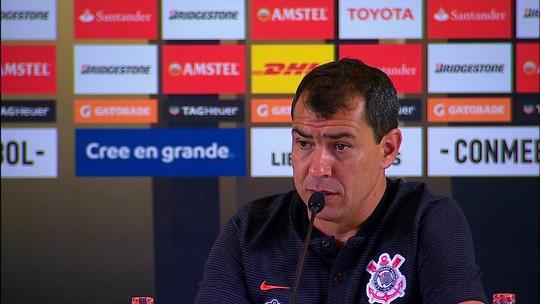 """Sheik leva susto e brinca com """"medo de morrer"""" após gol no Corinthians"""