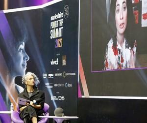 'Estou animada com o futuro do feminismo', diz Koa Beck no Power Trip Summit 2021