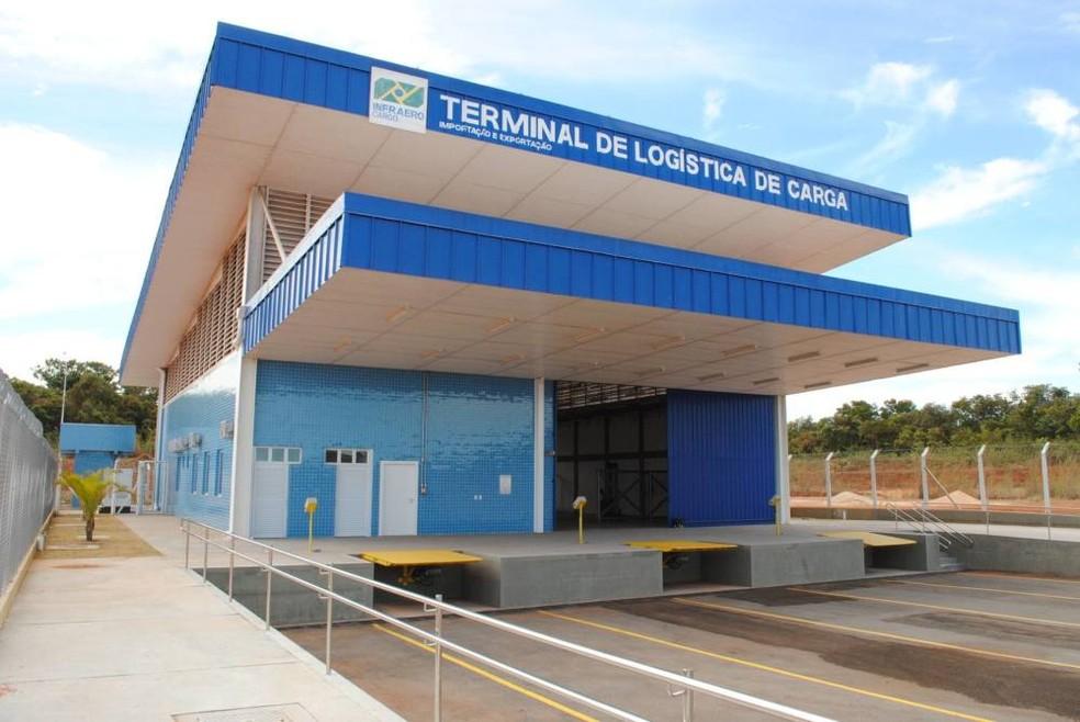 Terminal de cargas do aeroporto de Palmas será concedido (Foto: Manoel Lima/Seagro)