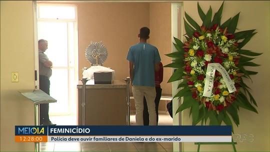 Corpo de mulher vítima de feminicídio é enterrado em cemitério na Região de Curitiba