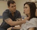 Juliano Cazarré e Arieta Corrêa em 'Amor de mãe' | Reprodução