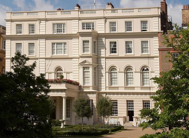 A Clarence House é aberta para turistas no verão (Foto: Royal.uk/ Reprodução)