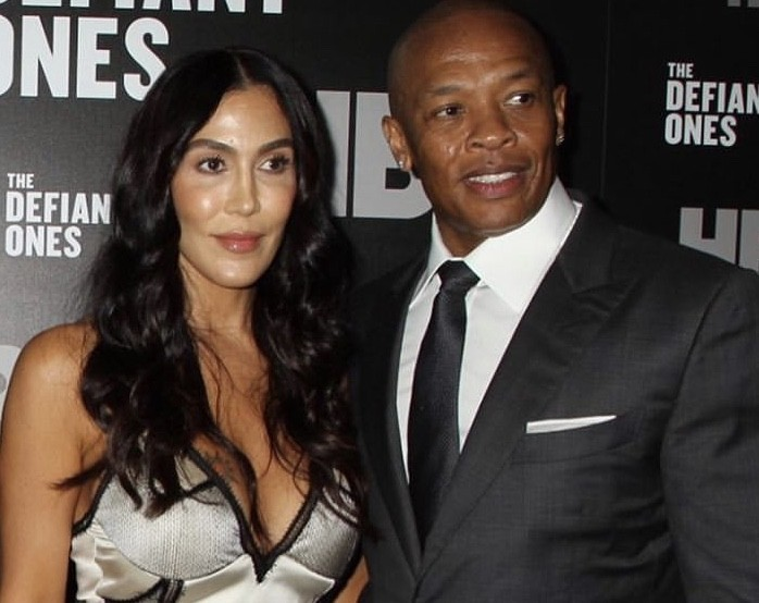 O rapper Dr. Dre e a ex-esposa, Nicole Young (Foto: Instagram )