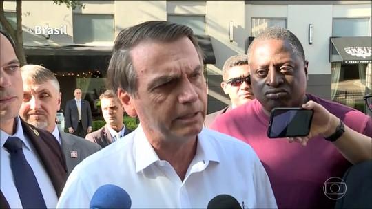 'Querem me atingir', diz Bolsonaro sobre quebra do sigilo bancário do filho Flávio