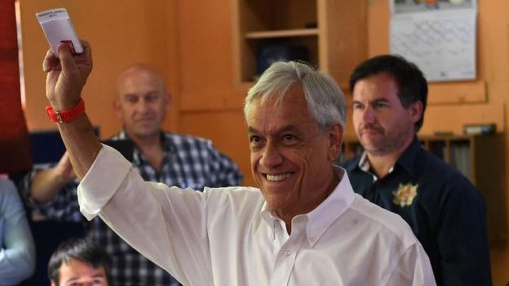 Sebastián Piñera — Foto: AFP