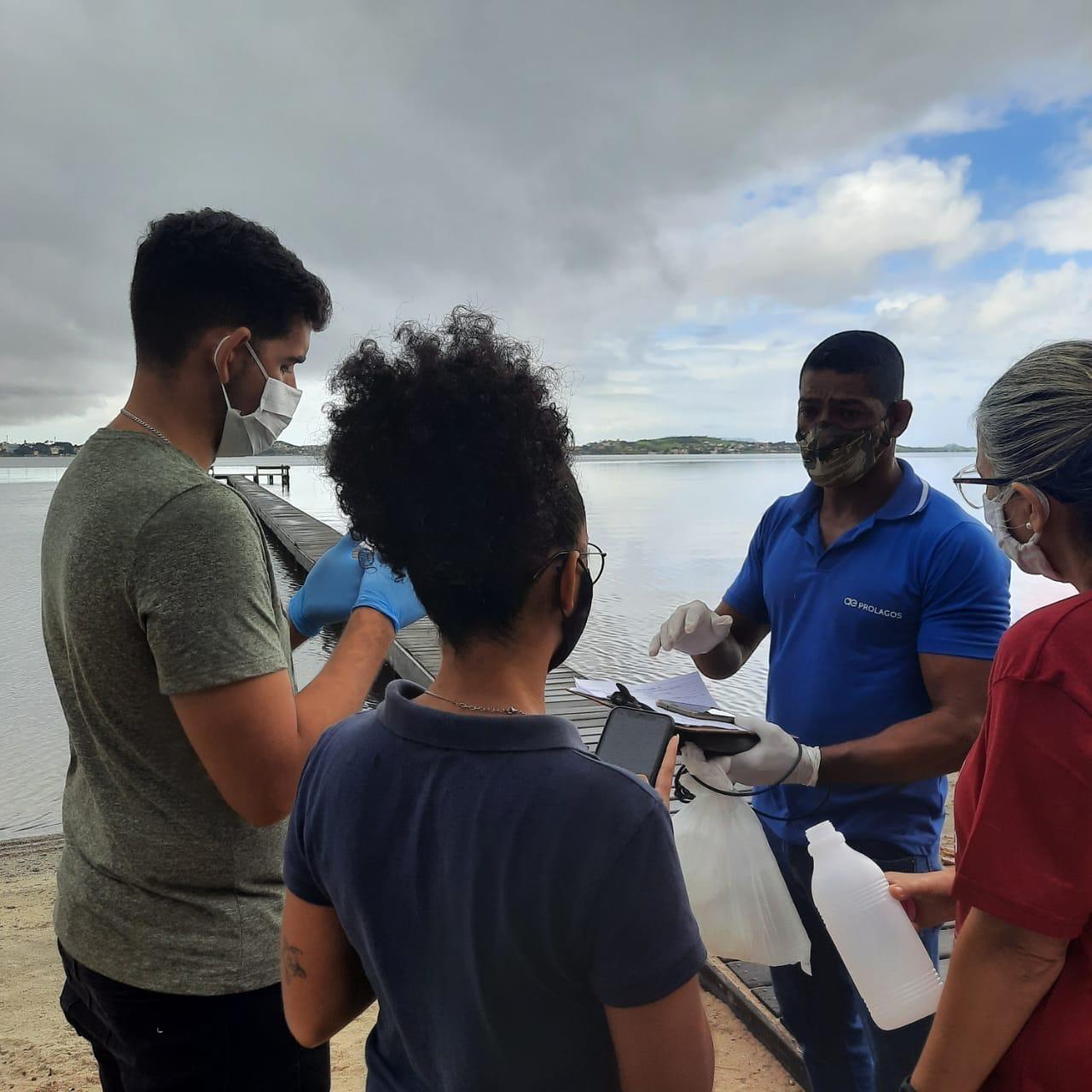 Prolagos e UVA firmam parceria para monitoramento da Lagoa de Araruama