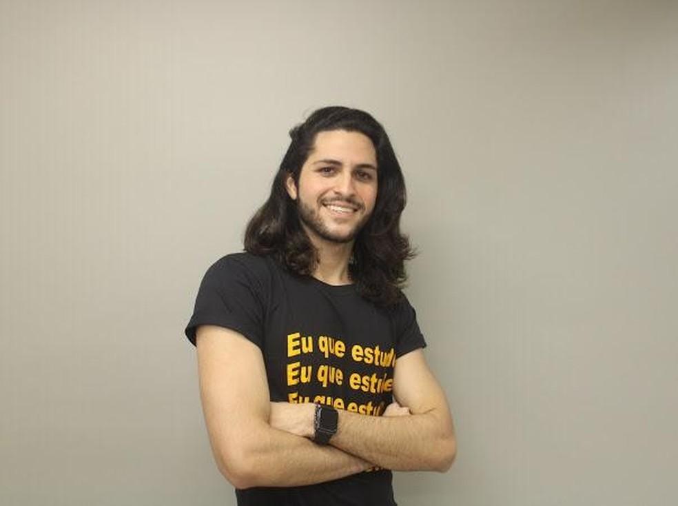Otto Pinheiro, estudante do curso de Administração da Unifor  — Foto: arquivo pessoal