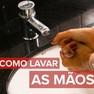 Foto: (Como lavar as mãos / Reprodução/G1)