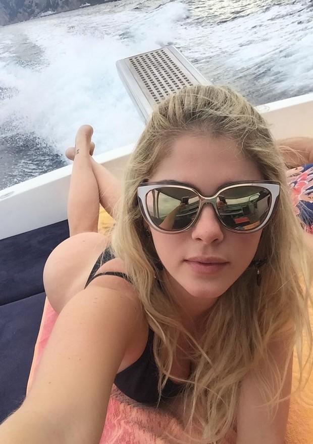 Bárbara Evans relembra viagem a Capri, na Itália (Foto: Reprodução/Instagram)