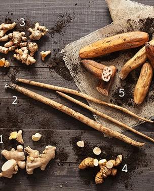 5 raízes para saborear na cozinha