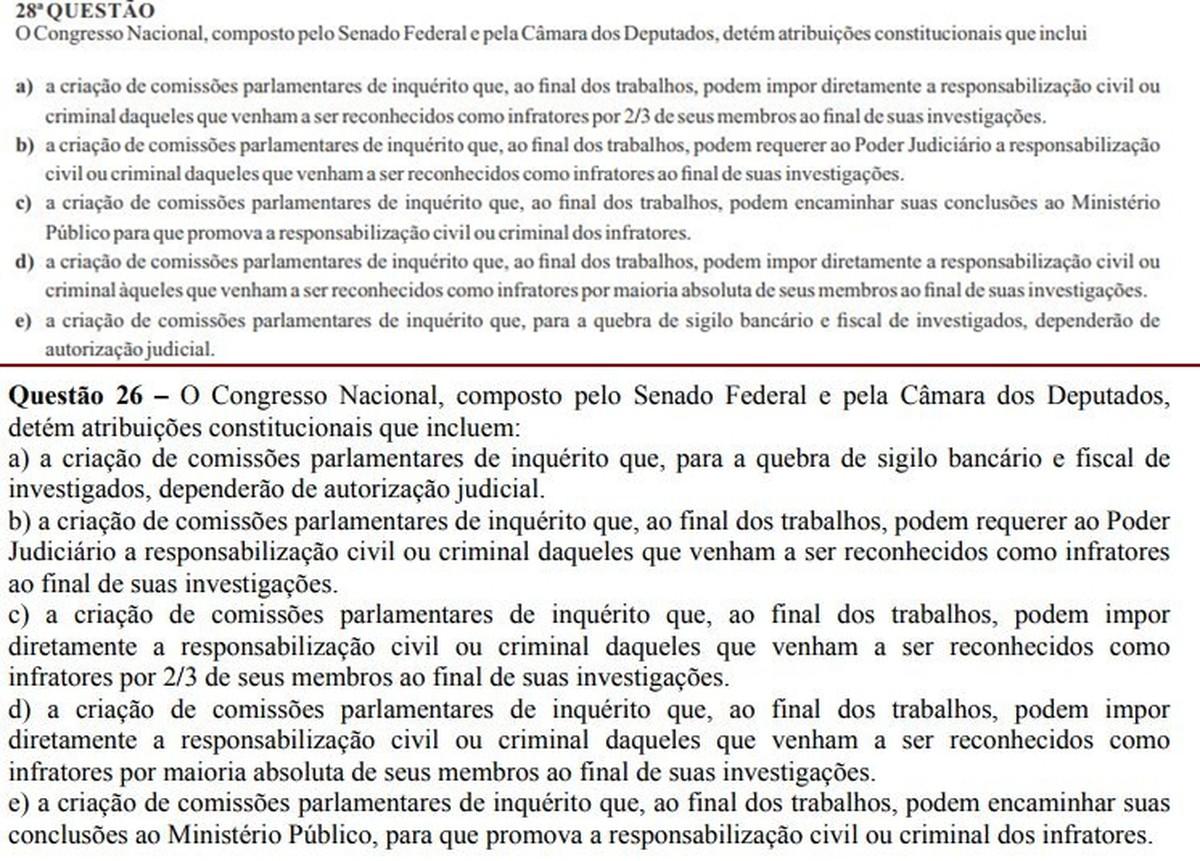 Questão de prova do concurso da UEPB é anulada após suspeita de cópia, diz comissão