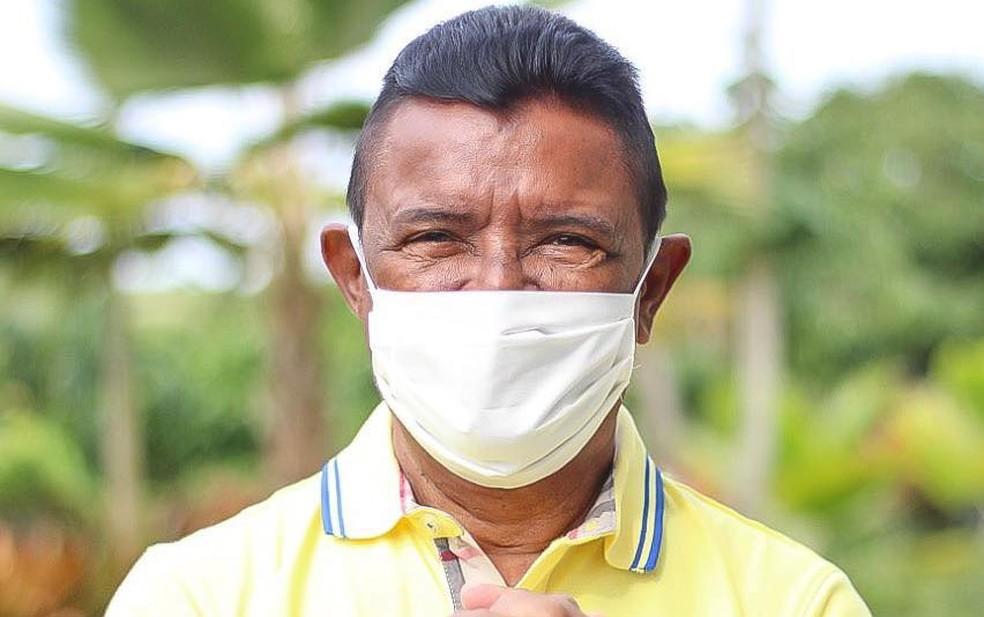 TRE suspendeu posse de prefeito Padre Aguinaldo (PDT), eleito para governar Firmino Alves, no sul da Bahia — Foto: Reprodução/Redes Sociais