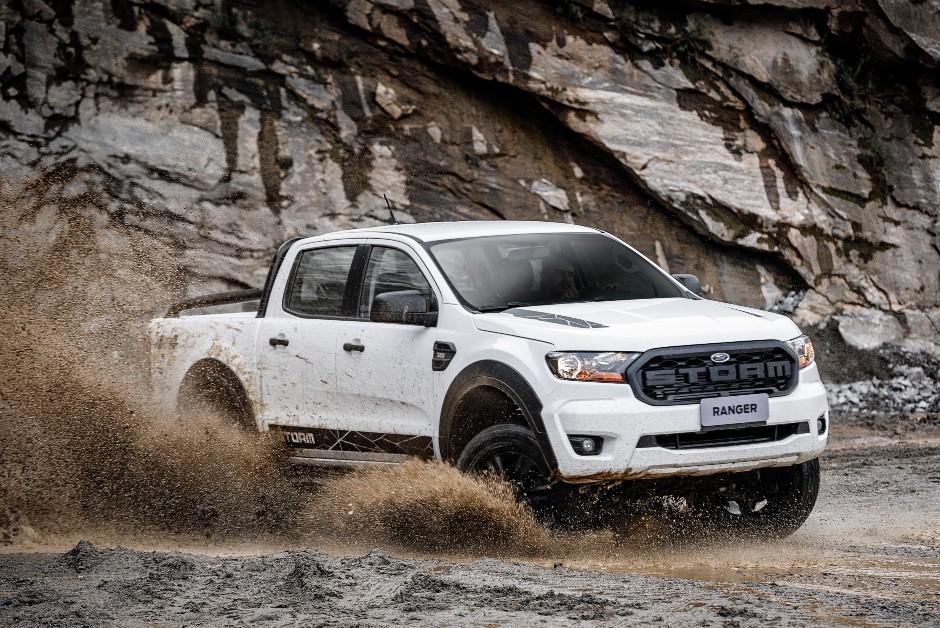 Ford Ranger Storm - Perfil (Foto: Divulgação)