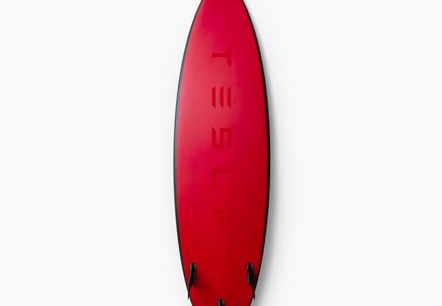 Prancha de surfe desenhada pela Tesla (Foto: Divulgação Tesla)