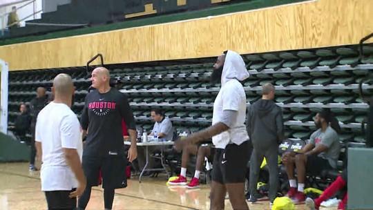 Depois de show dos Warriors, Rockets apostam em tranquilidade para o Jogo 4