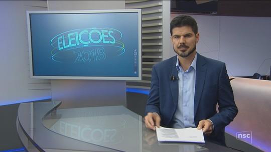 Veja a agenda dos candidatos ao governo de SC nesta sexta-feira (7)