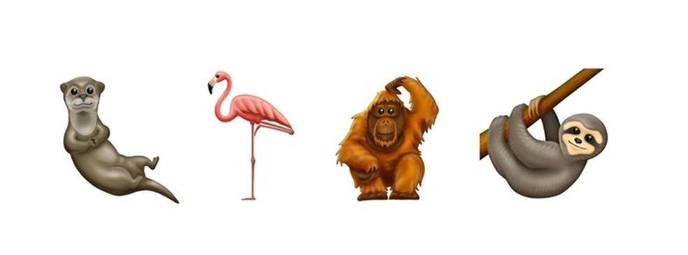 Animais confirmados para o pacote Emoji 12.0 — Foto: Divulgação/Emojipedia