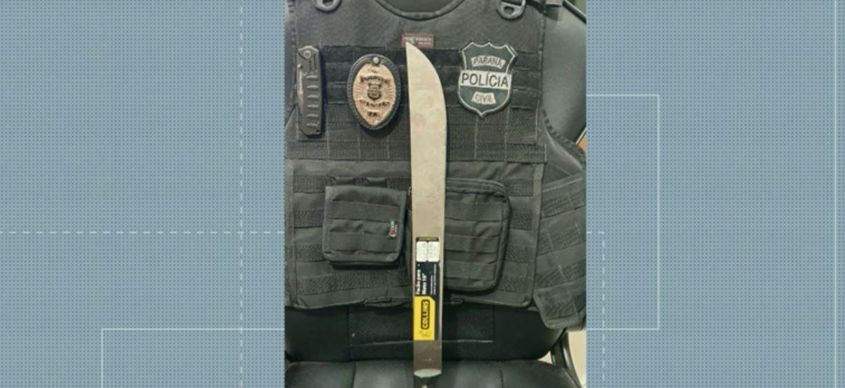 Agente de saúde é agredida com facão durante atendimento domiciliar, em Santa Helena