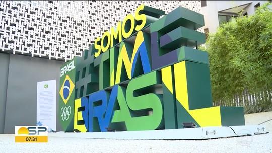Jogos Olímpicos de Tóquio: escultura do Time Brasil chama atenção na Avenida Paulista