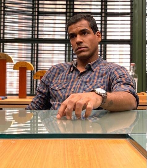Marcello Melo Jr. em 'Bom sucesso' (Foto: TV Globo)