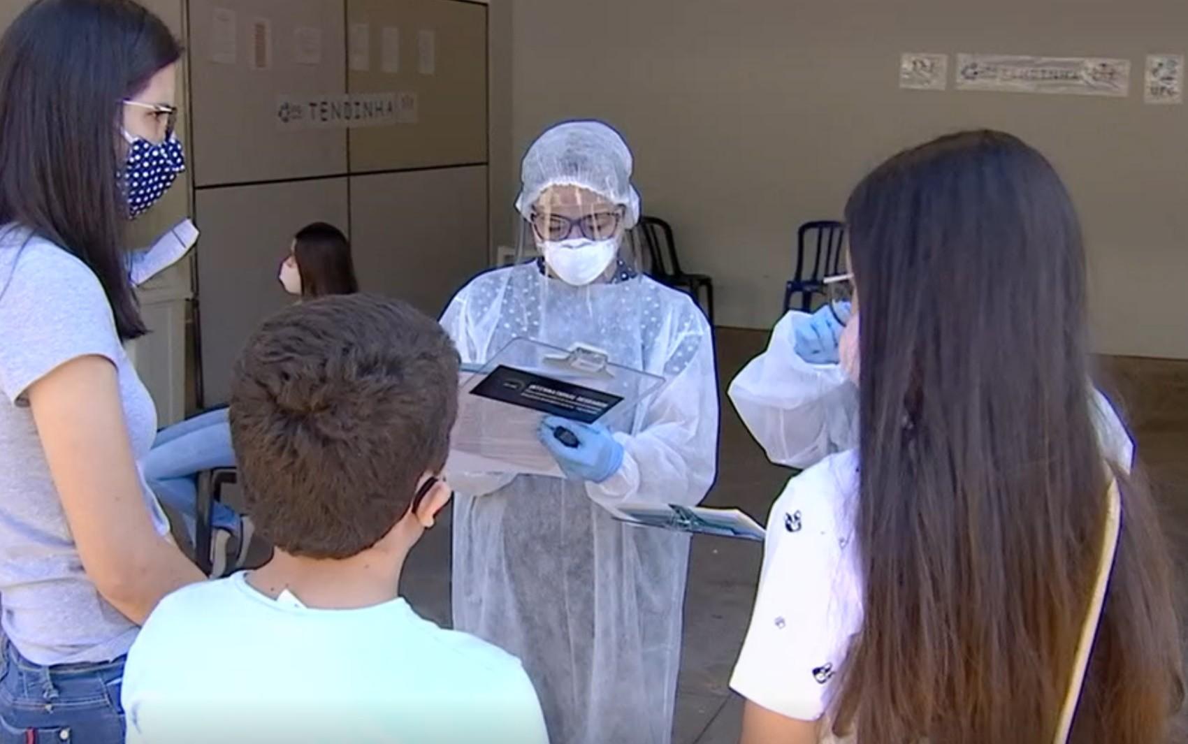 Prefeitura realiza testagem domiciliar para o coronavírus neste sábado, em Aparecida de Goiânia