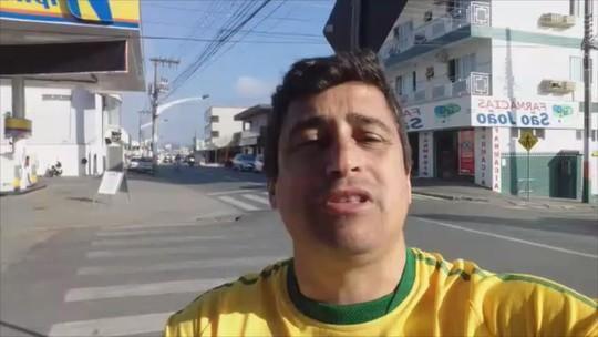 Candidato ao governo de SC Jessé Pereira (Patriota) responde perguntas do G1