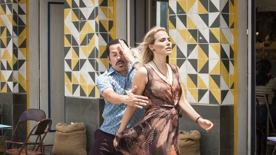 Letícia Colin e Edmilson Filho dançam funk nos bastidores de 'Cine Holliúdy'; veja vídeo!