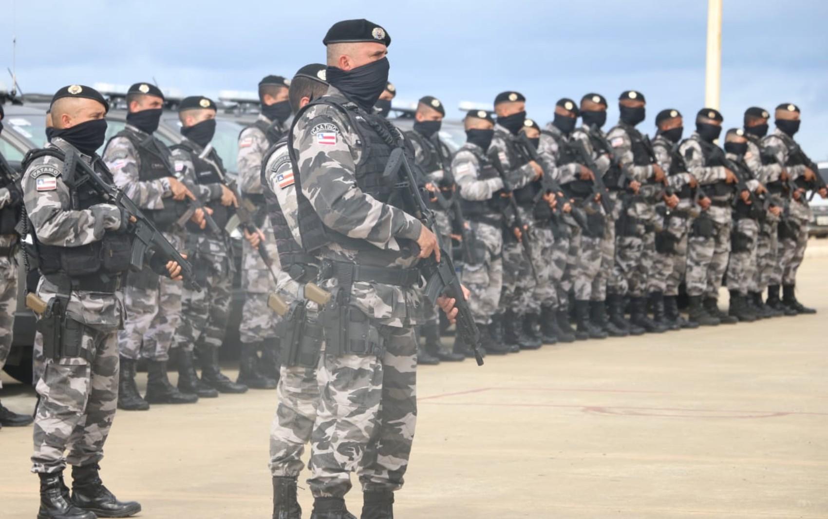 Operações de combate ao tráfico de drogas e mortes violentas, em Salvador, são lançadas pela PM