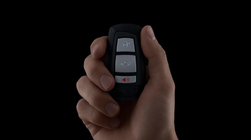 CarPlay agora permite usar iPhone como chave para abrir carros — Foto: Reprodução/Apple