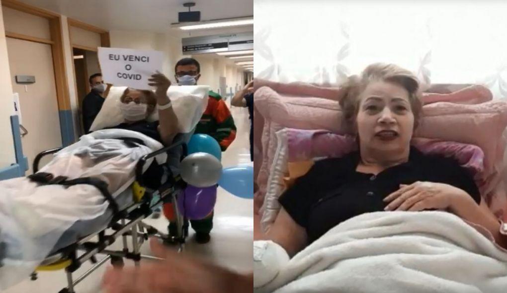 Aposentada sofre amputações em tratamento contra a Covid-19 e relata luta: 'Não é brincadeira'