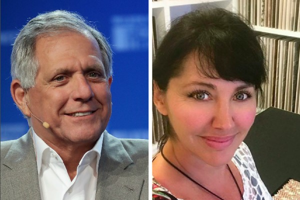 O empresário Les Moonves e a atriz Bobbie Phillips (Foto: Getty Images/Instagram)