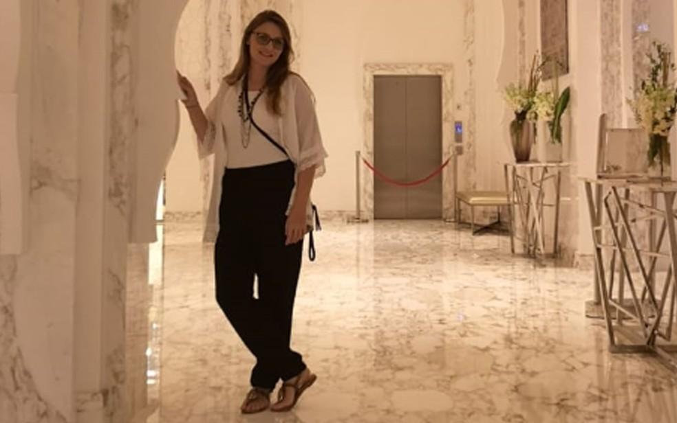 Patrícia Nascimento está no Bahrein e mantém contato com brasileiros em outros países próximos — Foto: Patrícia Nascimento/Arquivo pessoal
