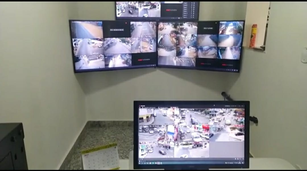 PM inaugura sistema de vídeo monitoramento em Mantena