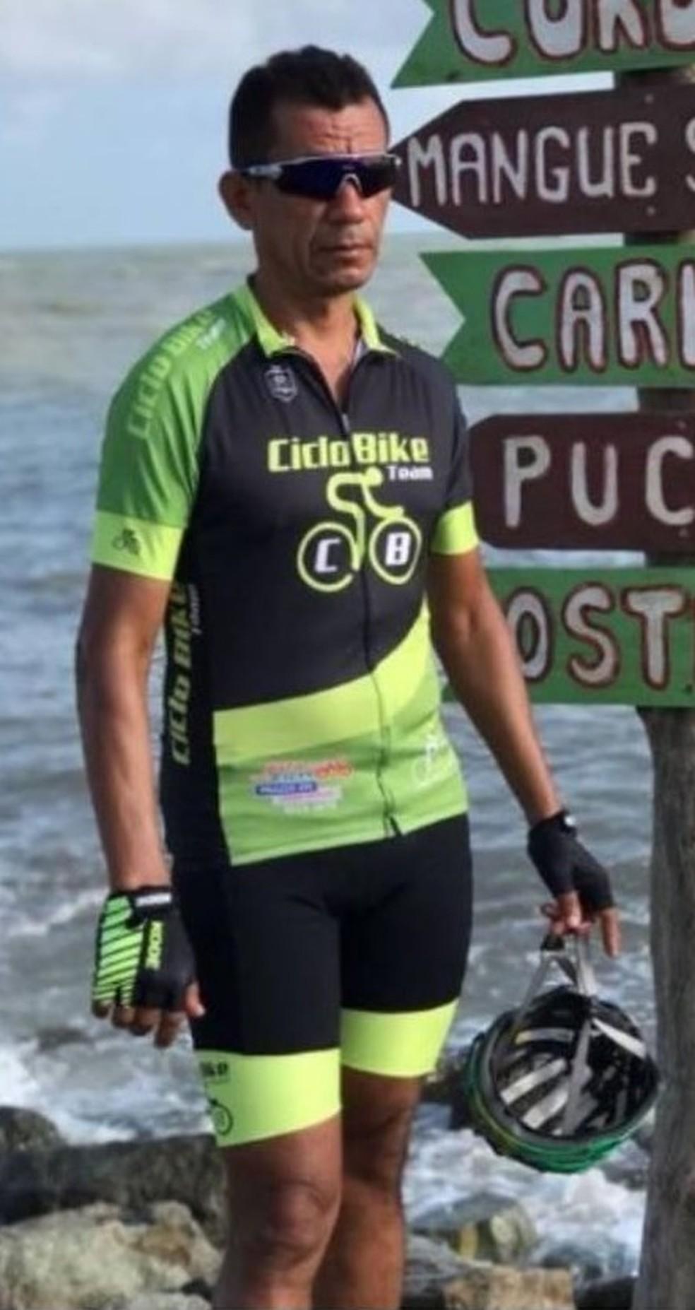 Raimundo da Silva Brandão era ciclista e foi morto durante assalto, segundo a polícia — Foto: Divulgação/CicloBike