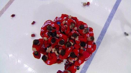 Hóquei no Gelo - AOR x Alemanha - Final - Masculino