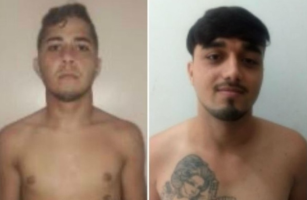 Os irmãos Keliton e Elias dos Santos foram mortos em dezembro de 2019 em Rio Branco — Foto: Divulgação/Iapen-AC