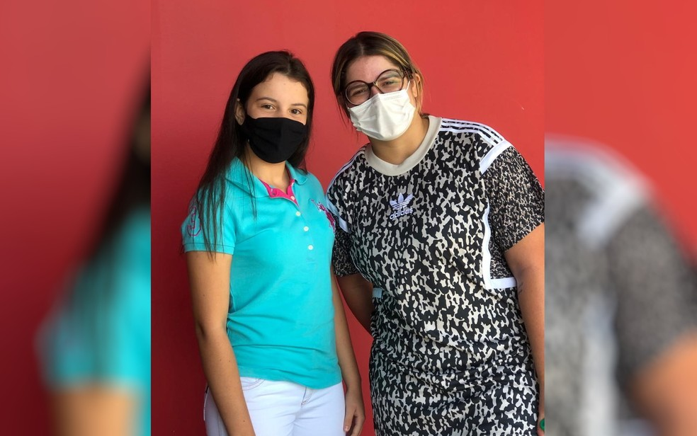 Após vídeo com Gusttavo Lima, menina cantora também conheceu Marília Mendonça — Foto: Arquivo pessoal