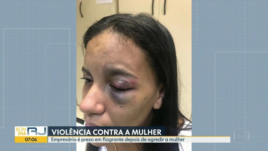 Empresário é preso por espancar a companheira a socos dentro de casa na Baixada Fluminense