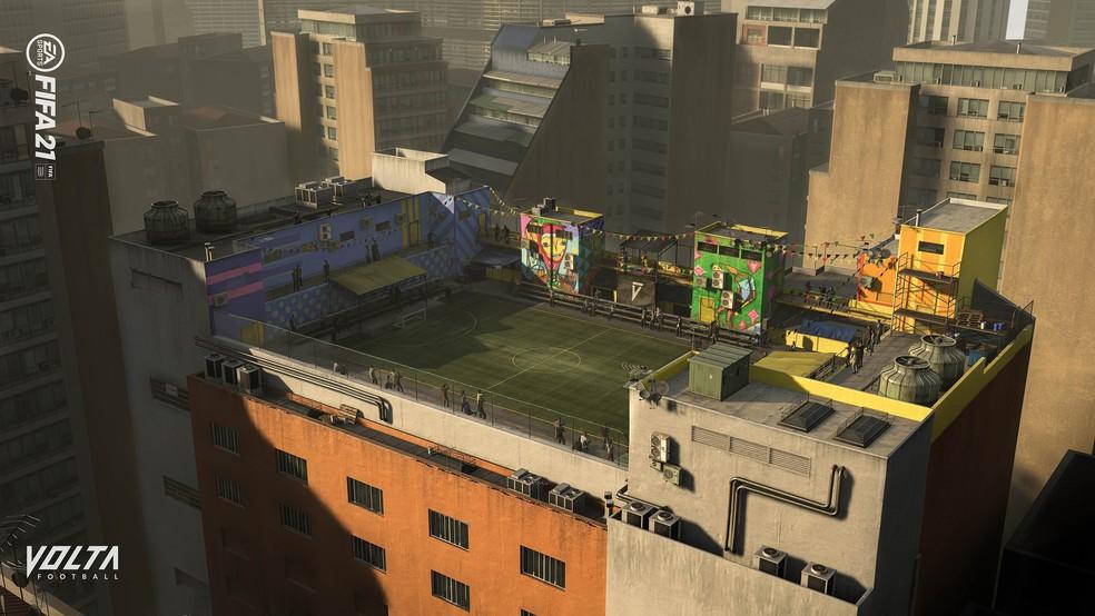 FIFA 21: Além do Rio de Janeiro, agora o modo Volta também tem arena em São Paulo — Foto: Divulgação/EA Sports