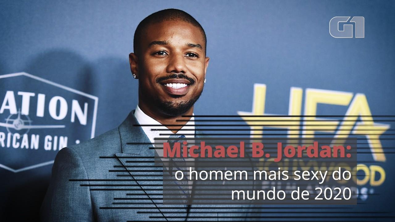 Michael B. Jordan é eleito o homem mais sexy do mundo de 2020 pela revista 'People'