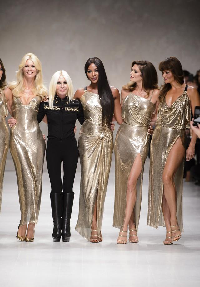 Donatella Versace (Foto: Imaxtree)