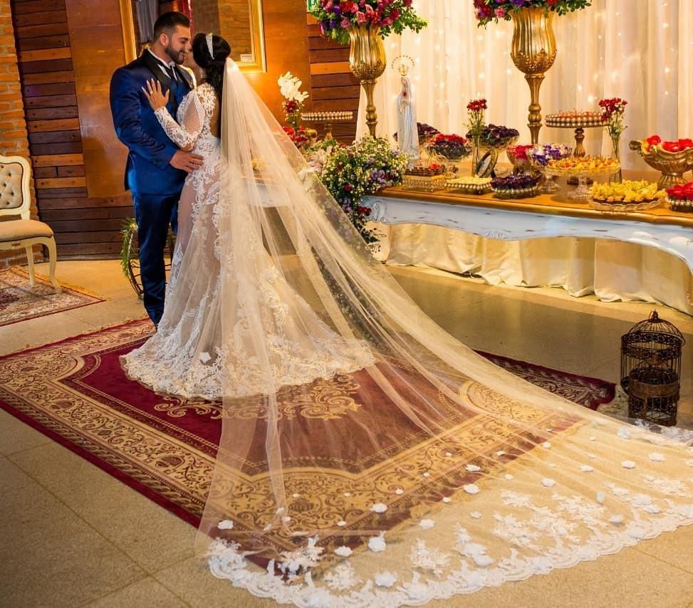 Priscila Pires e João Reis se casam  (Foto: Reprodução / Instagram)