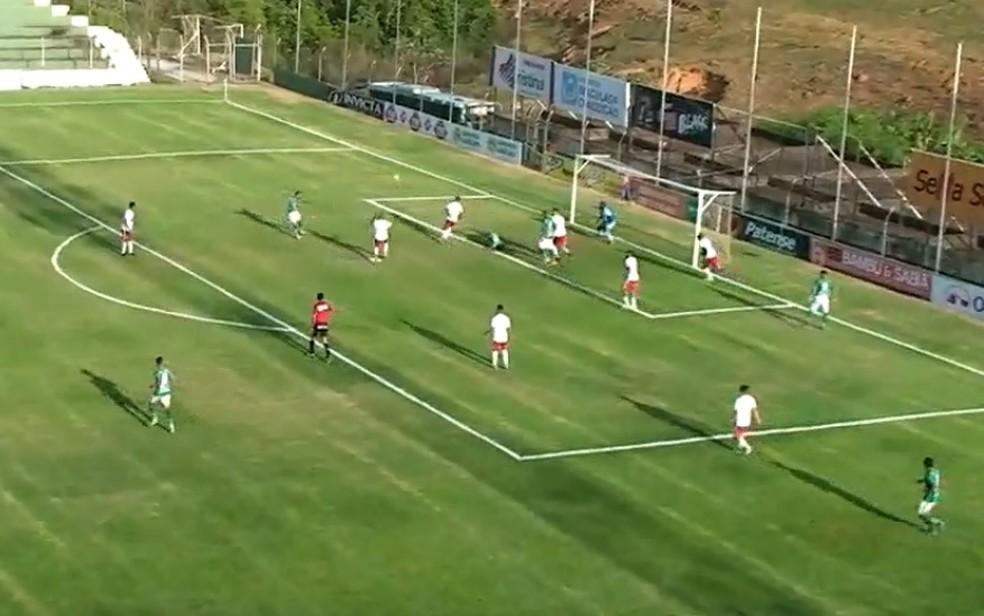 Betim passou pelo Mamoré na semifinal — Foto: Reprodução/FMF TV