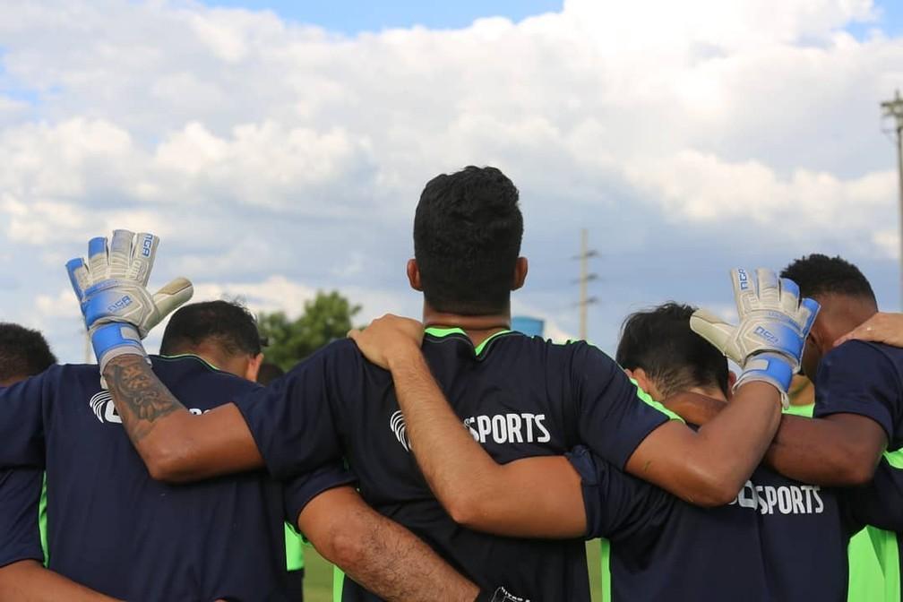 Sem festa e com treino no Felipão, Altos fará apresentação de elenco para a temporada 2020 — Foto: Luis Júnior/Altos AA